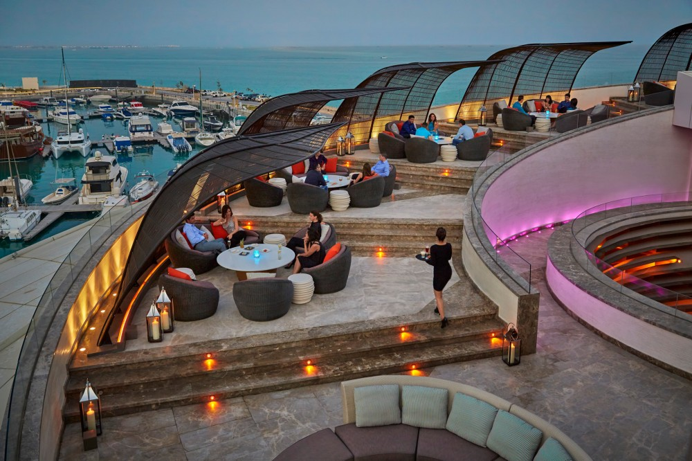 Black Pearl Lounge at Nobu Doha