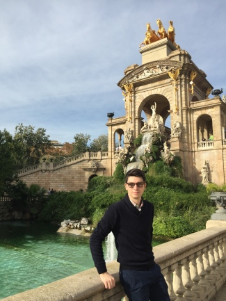 Picture of me in Barcelona, Spain