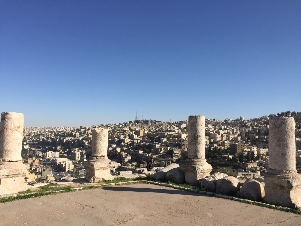 Amman from the Hills