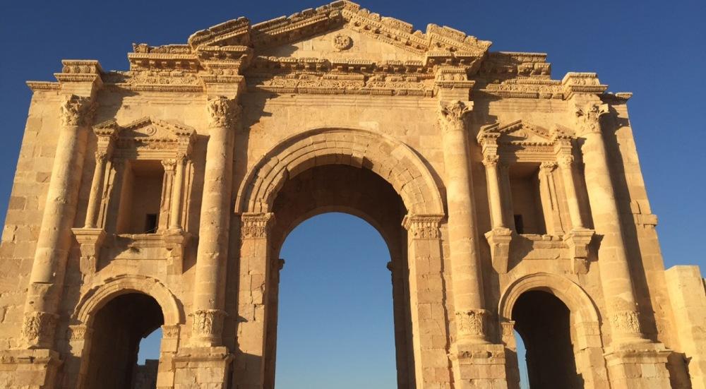 Gate to the Jerash City