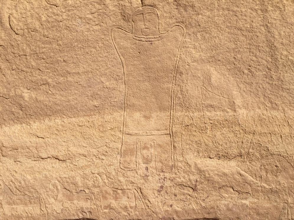 Wadi Rum Rock Drawing