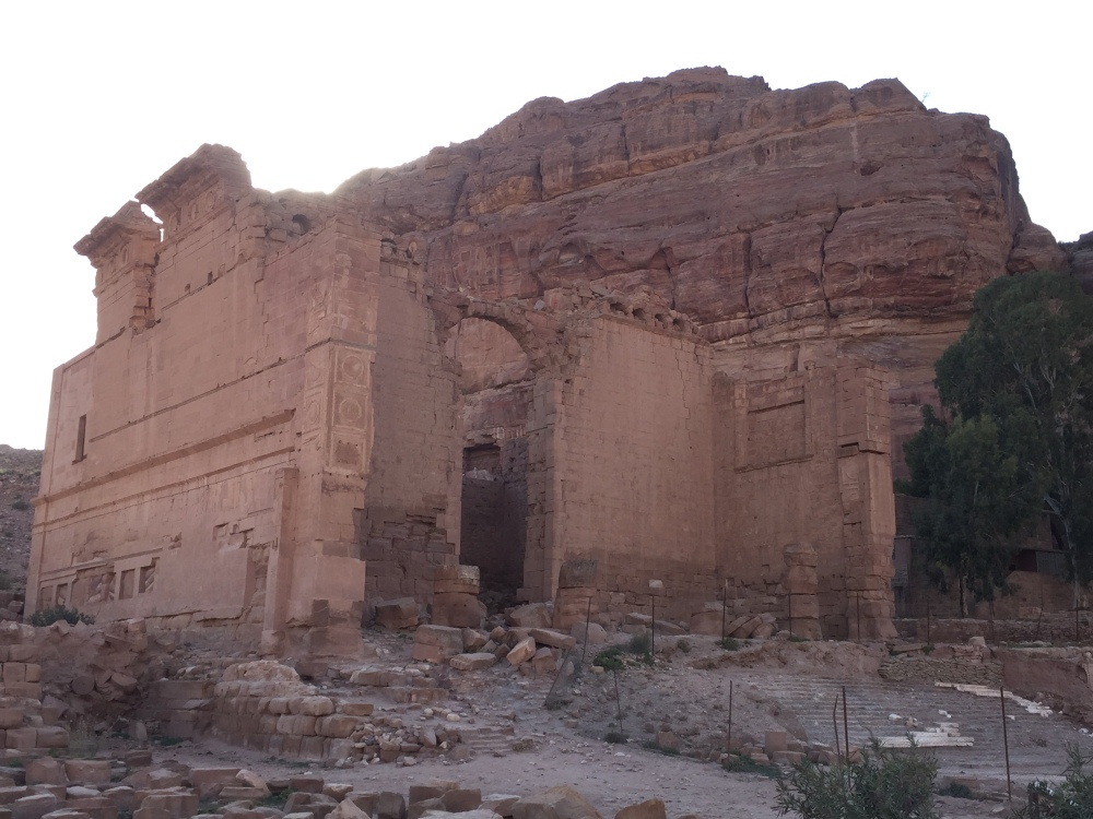 Qasr al-Bint - The most important temple of Petra