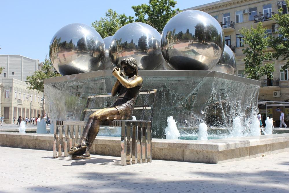 Fountain square