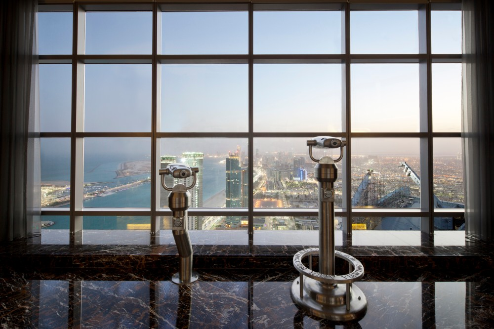 Etihad Towers Observation Deck at 300